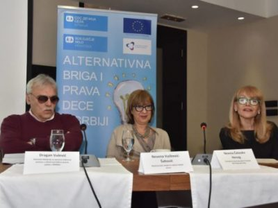 "Opening ceremony of the project  ""Alternative Care and Children's Rights in Serbia"""