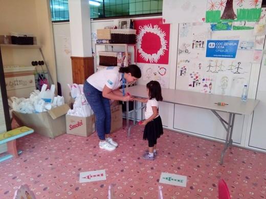 sos decija sela: pomoc deci izbeglicama