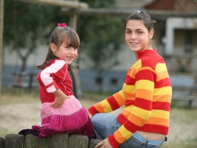 Sanja and her Mother