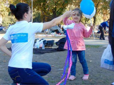 """Naše aktivnosti u okviru Programa urgentne pomoći izbeglicama sa Bliskog istoka """"Solidarnost"""""""