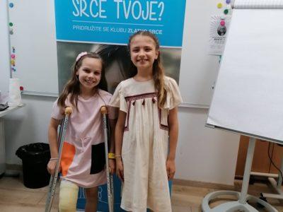 Klementina i Tara organizovale humanitarnu akciju za drugare iz SOS Dečijeg sela Kraljevo