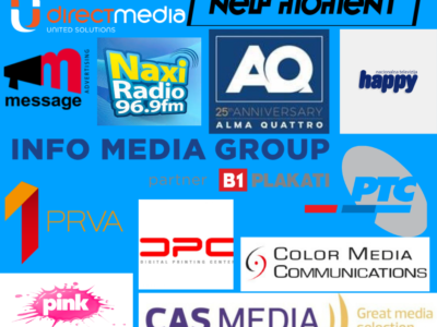 Značajna podrška našoj kampanji od strane medijskih kuća