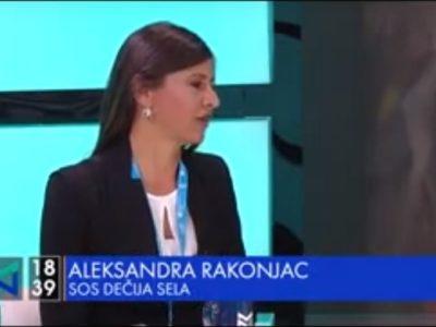 Predstavnici SOS Dečija sela Srbija u emisiji Među nama, Nova S, 01.11.2019