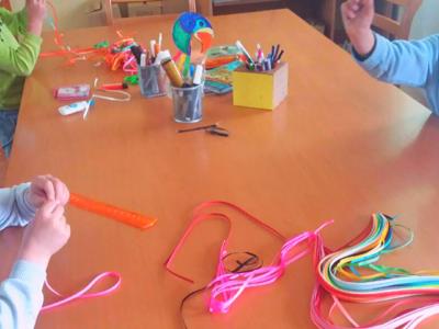 Stvaramo i igramo se, u SOS Dečijem selu Kraljevo